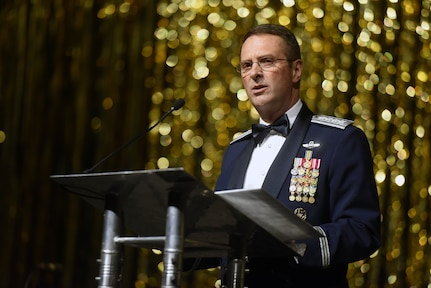 """[T]he support, the trust, and the confidence of the American people ... may well be the most important weapon in our nation's arsenal,"" Air Force Gen. Joseph Lengyel, chief, National Guard Bureau, told attendees at the 50th Anniversary Military Appreciation Banquet in Fairbanks, Alaska, May 4, 2018."