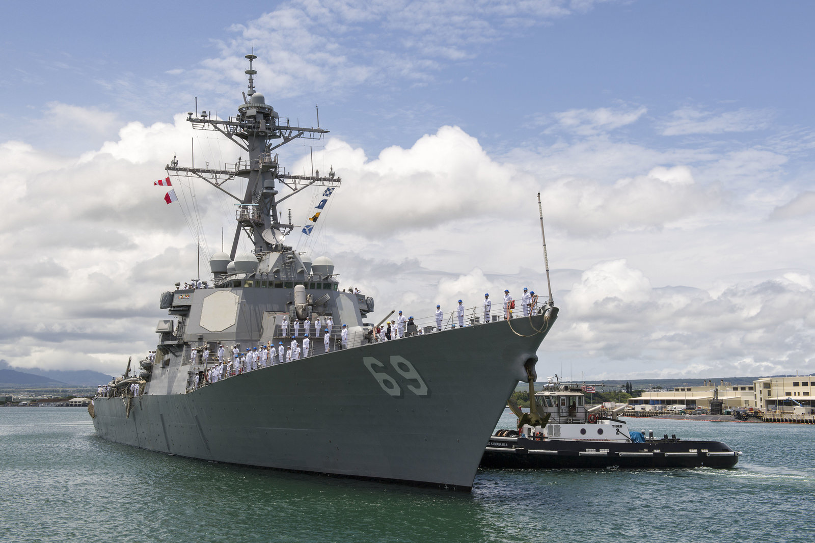 USS Milius Joins Forward Deployed Naval Forces in Yokosuka