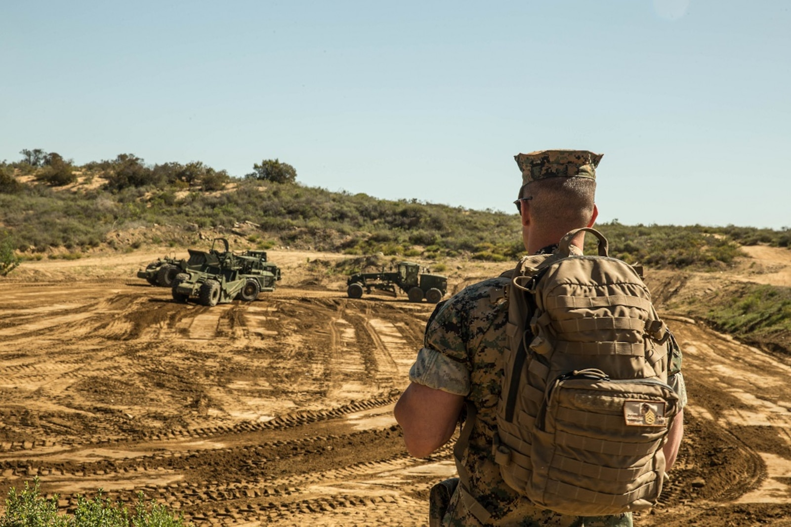 7th Engineer Support Battalion - Dig Site Exercise