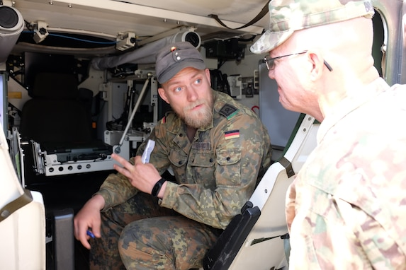 209th Digital Liaison Detachment supports U.S. forces and NATO allies at JWA