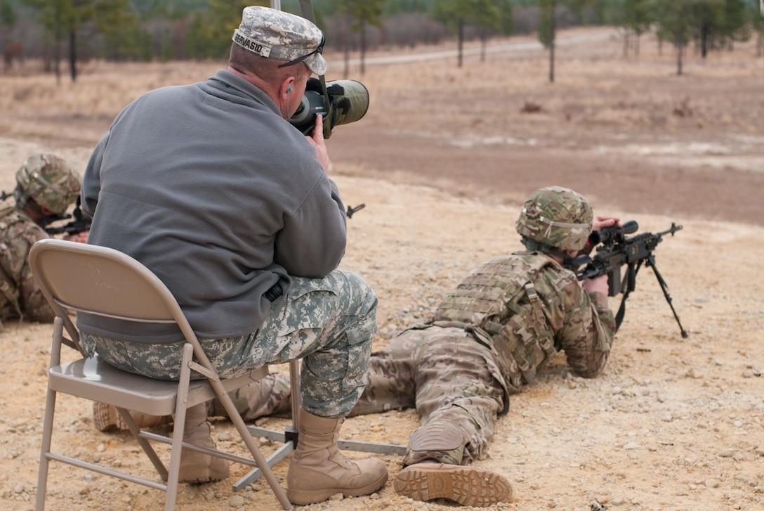 Army Reserve Marksmanship Team provides training on Enhanced Battle Rifle