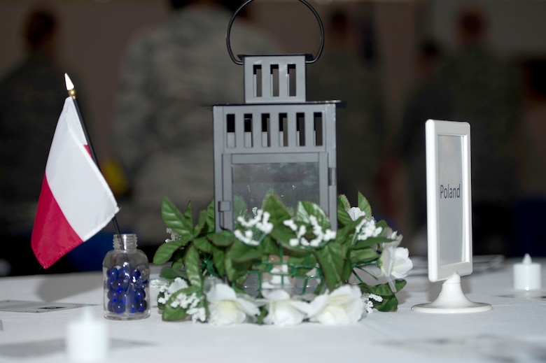 The MacDill Chapel hosted a Holocaust Remembrance Day event May 3, 2018 at MacDill Air Force Base, Fla.