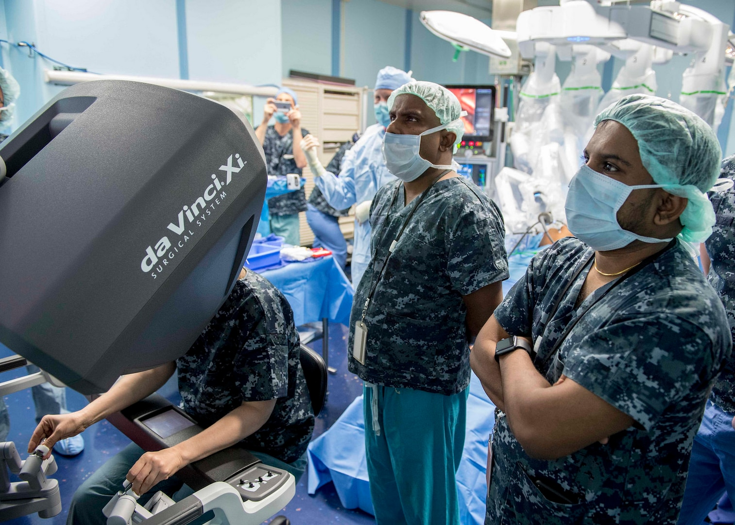 Robot-assisted surgery a first aboard USNS Mercy and in Sri Lanka
