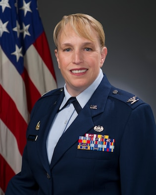 Col. Julie Rutherford, official photo, U.S. Air Force