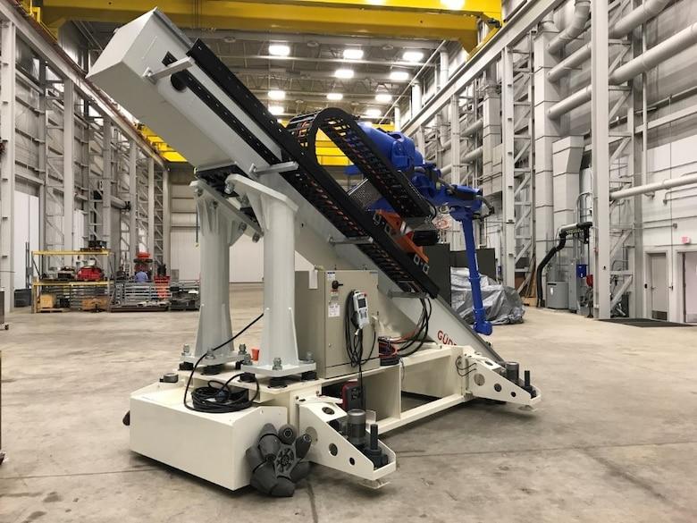 Afrl Demos Advanced Robotics For Aerospace Manufacturing Wright