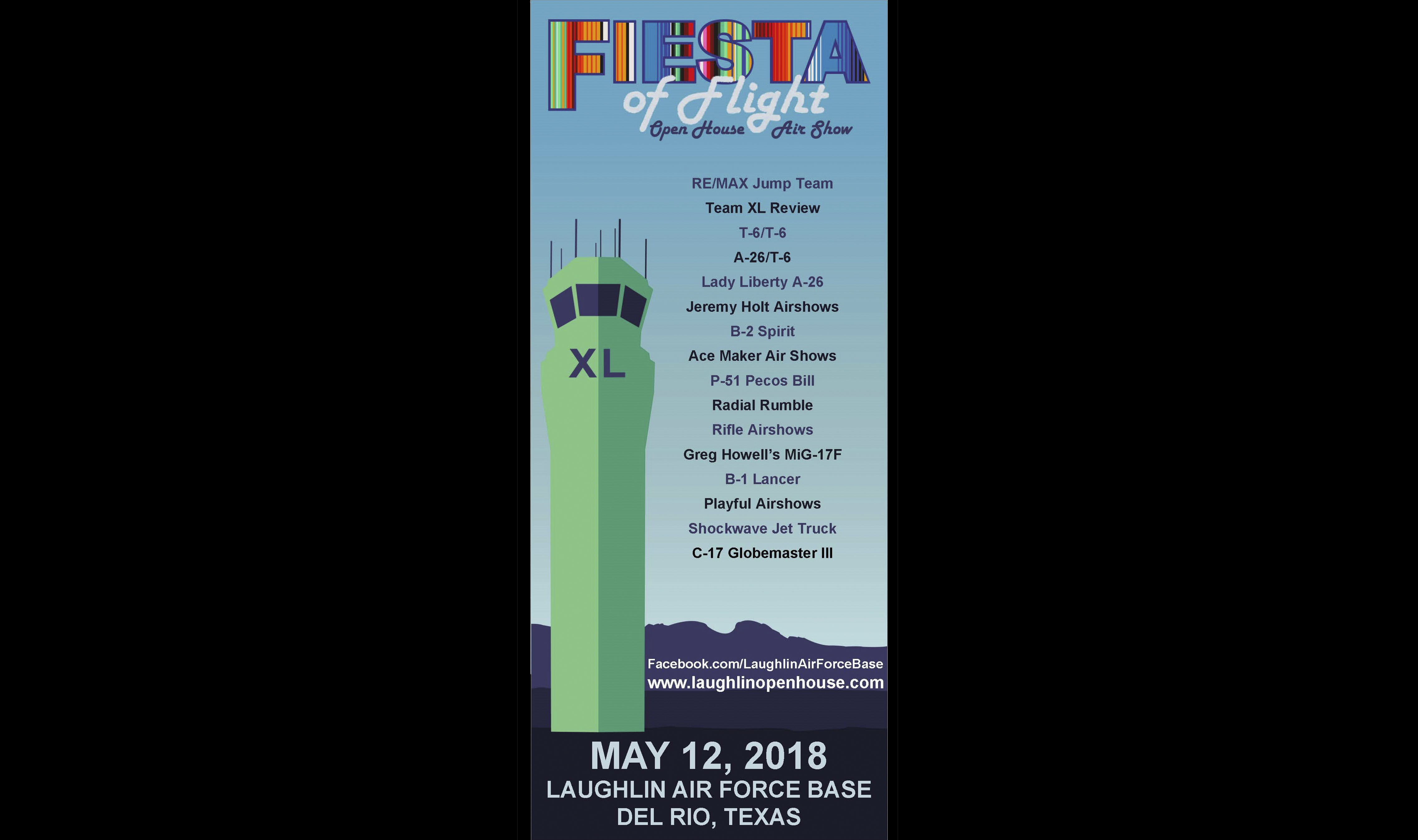 Almost Showtime: Fiesta of Flight > Laughlin Air Force Base