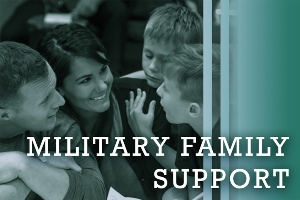 Military Family Support graphic