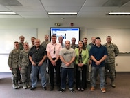 Members of the 911th Airlift Wing attend a seminar geared to inform them about the benefits of solar power in western Pennsylvania. According to Sharon Pillar, a consultant advocate for solar energy and sustainable communities, homes in western Pennsylvania can produce as much solar electricity as a solar home in Arizona by simply adding an extra solar panel.