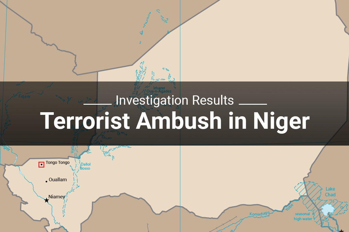 Investigation Results: Terrorist Ambush in Niger