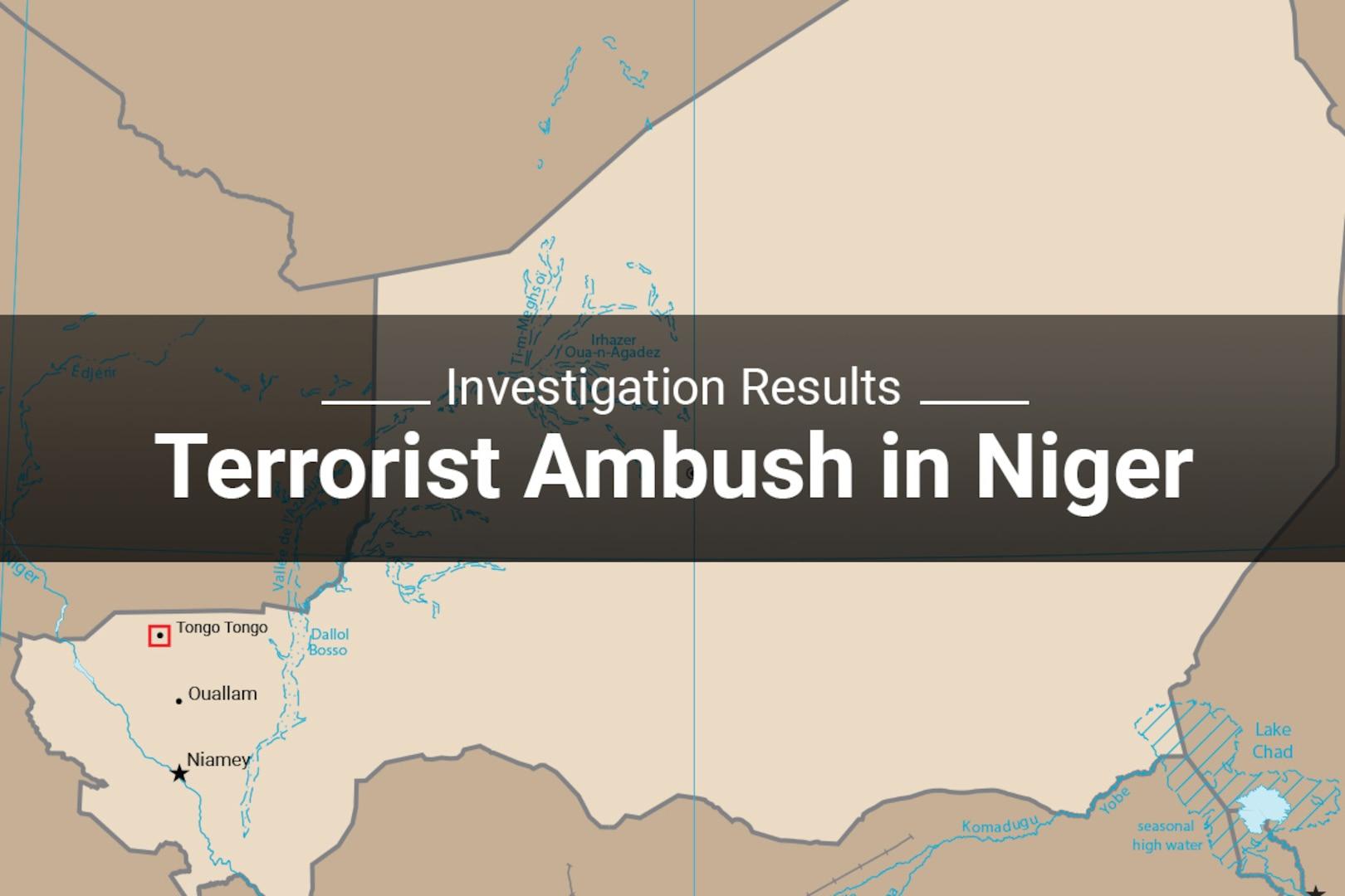 Investigation Results Terrorist Ambush in Niger
