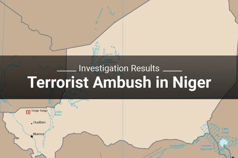 Investigation Results Terrorist Ambush in Niger