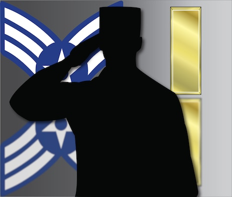 The Air Force offers multiple avenues for enlisted Airmen to commission throughout their career. Most paths commission Airmen as second lieutenants, however, some of the professional programs earn Airmen a higher rank upon completion of the course.  (U.S. Air Force graphic by Airman 1st Class Nicolas Z. Erwin)