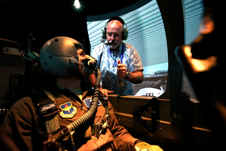 T-6A Texan II simulator training