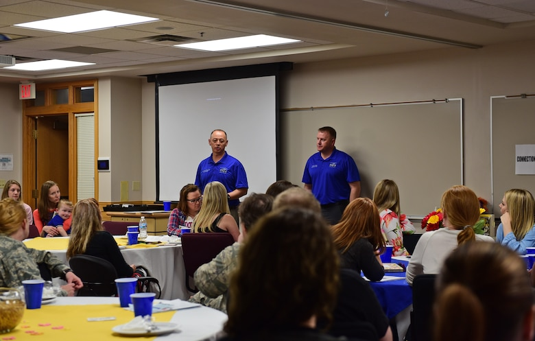 – More than 50 spouses and base leaders attended Ellsworth AFB's key spouse appreciation dinner May 8, 2018, at the Airman and Family Readiness Center on base.