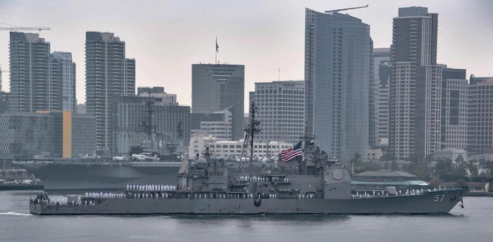 USS Lake Champlain completes Pacific deployment