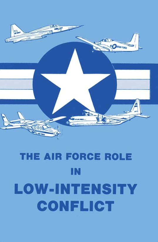 Book Cover - The Air Force Role in Low-Intensity Conflict