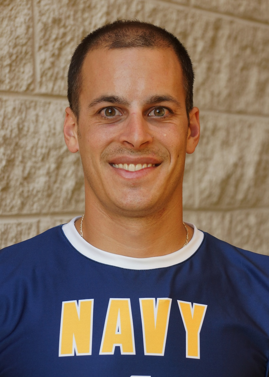 Photo of Navy Volleyball Player who days before Armed Forces Championship saved two lives