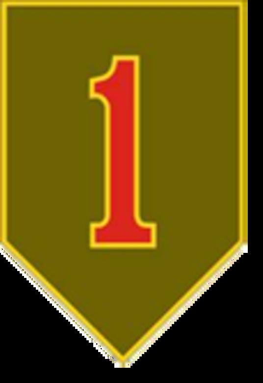 1st Infantry Division Crest