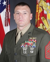 Sgt. Maj. Roger F. Griffith, Marine Corps Air Station New River sergeant major
