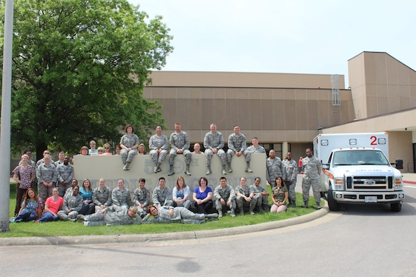 The 509th and 131st Medical Groups nurses and technicians celebrated National Nurses Week at Whiteman Air Force Base, Mo., May 6 - 12, 2018. During the week they participated in activities and reflected on how they can continue to deliver trusted care to all they serve. (Courtesy photo)