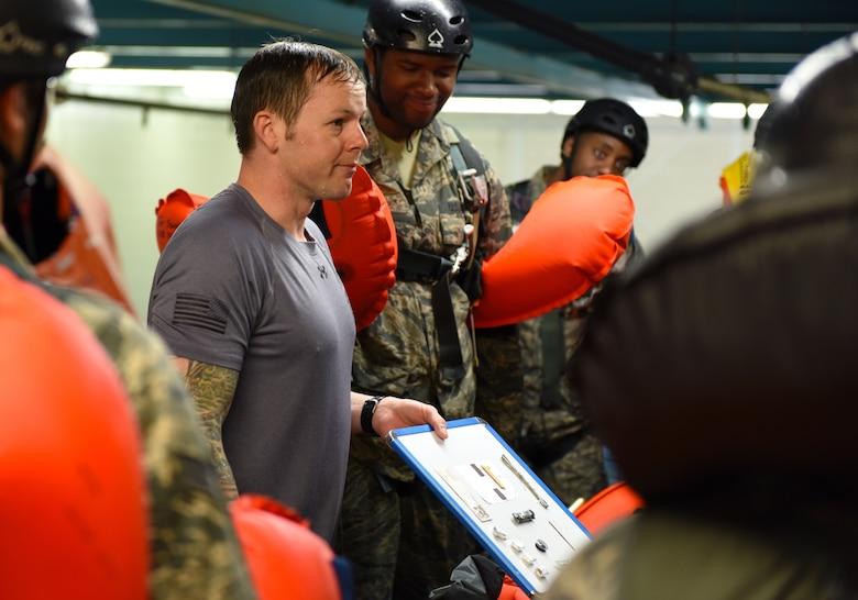 Airmen splash into survival training