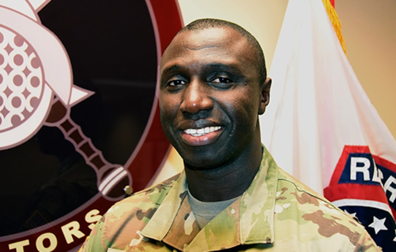 U.S. Army Staff Sergeant Mohamed Kaba.