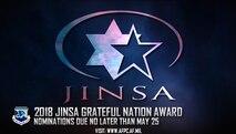 2018 JINSA Grateful Nation award; nominations due no later than May 25