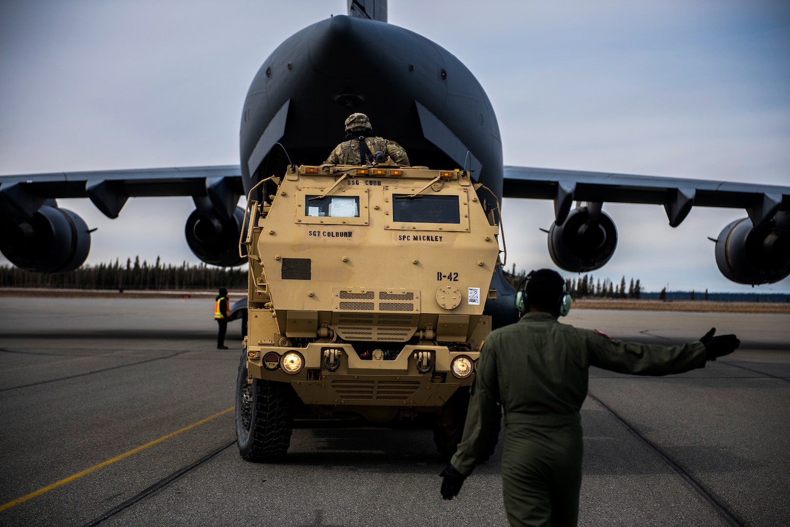 Air Force & Army Integrate During RED FLAG-Alaska