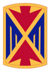 10th Army Air & Missile Defense Command Crest
