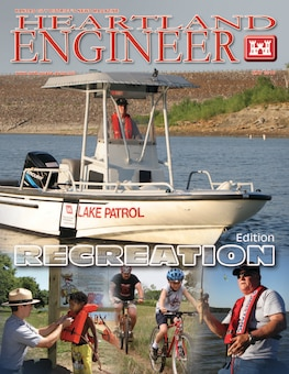 Articles in this edition include important water safety information, natural resource management recreation benefits, invasive species facts, innovative recreational opportunities, Harlan County Lake project construction completion, Truman Lake history and Missouri River recreation activities.