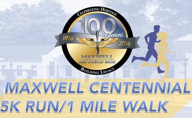 Graphic for Maxwell Centennial 5K Run/ 1 Mile Walk