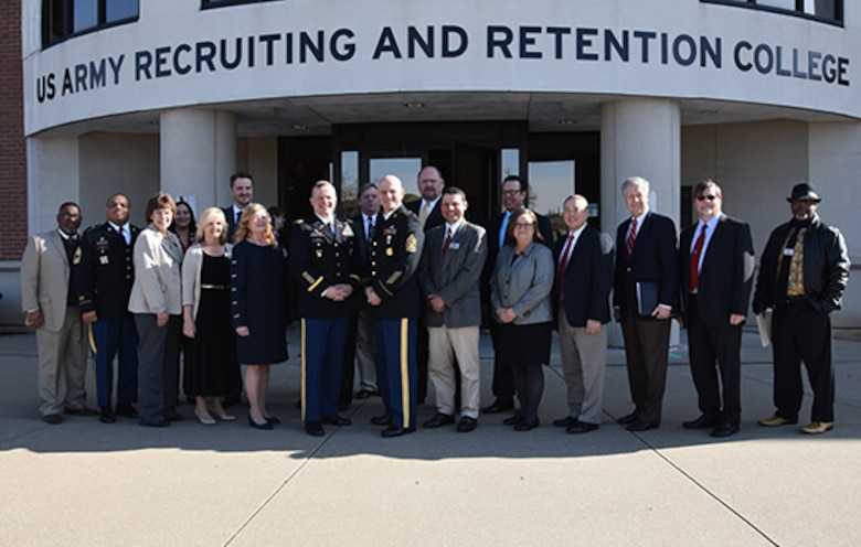 The U.S. Army Recruiting and Retention College signs 