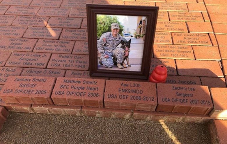 Anthem recruiter pays homage to beloved K-9 