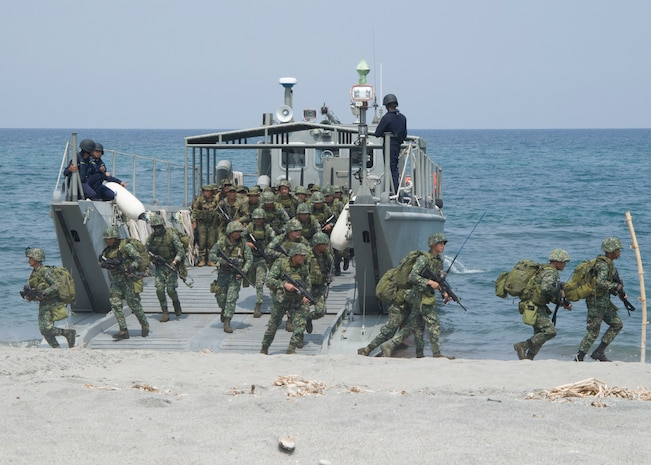 Balikatan 18: AFP, US military forces conduct combined Amphibious Exercise