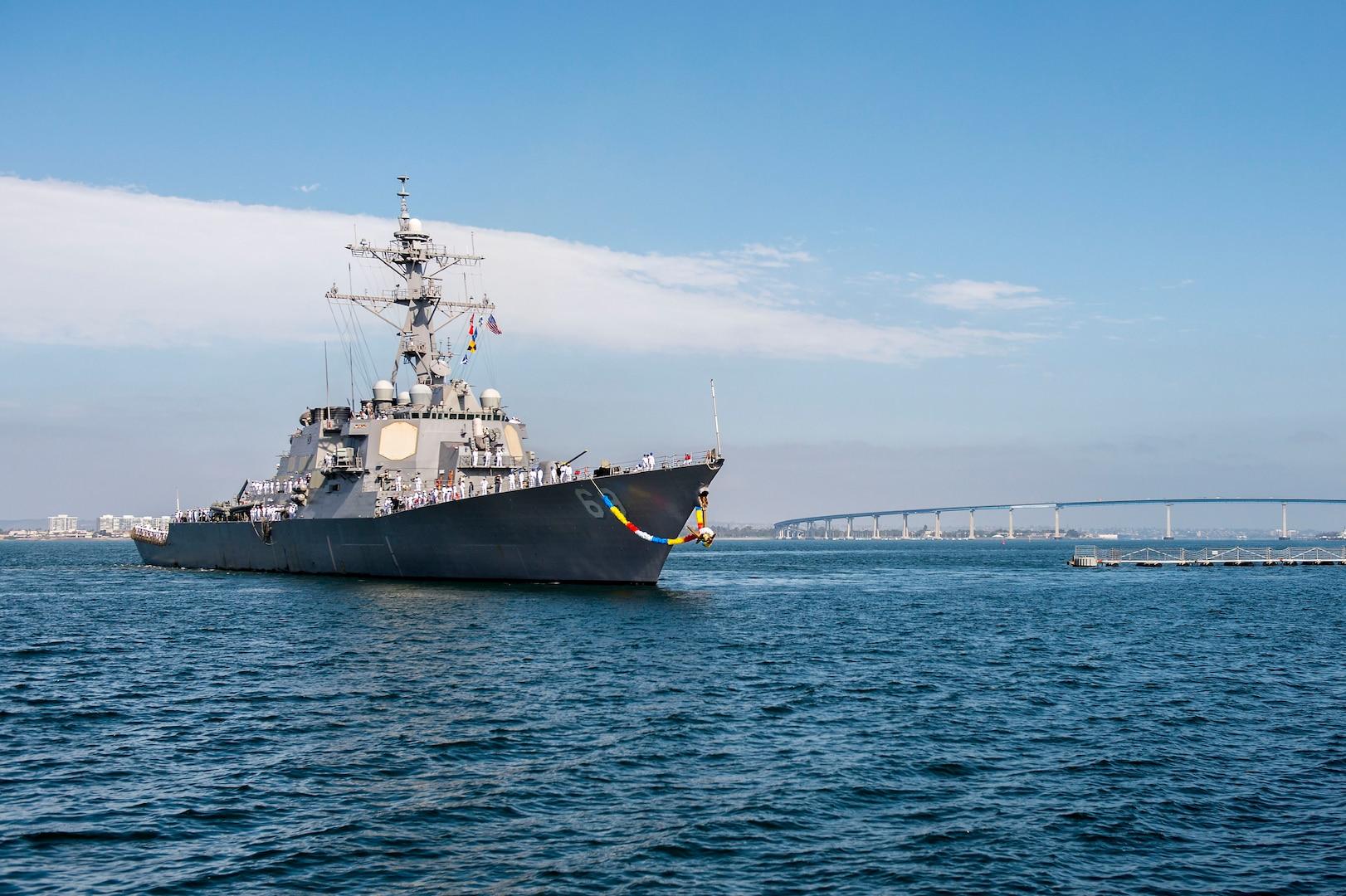 Milius brings enhanced missile defense to U.S 7th Fleet