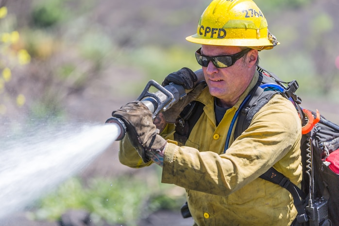 Annual fire preparedness measures underway at Camp Pendleton