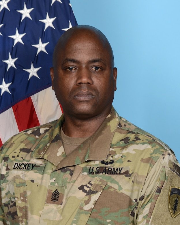 Operations Sergeant Major 19th BCD Sgt. Maj. Richard A. Dickey