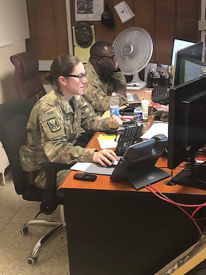 Soldier fulfills her aspirations during Iraq assignment