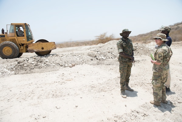 The Vermont National Guard and Senegalese Armed Forces engineers are renovating the firing range through their State Partnership Program relationship.