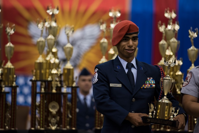Air Force soars during the 2018 National High School Drill Team Championships