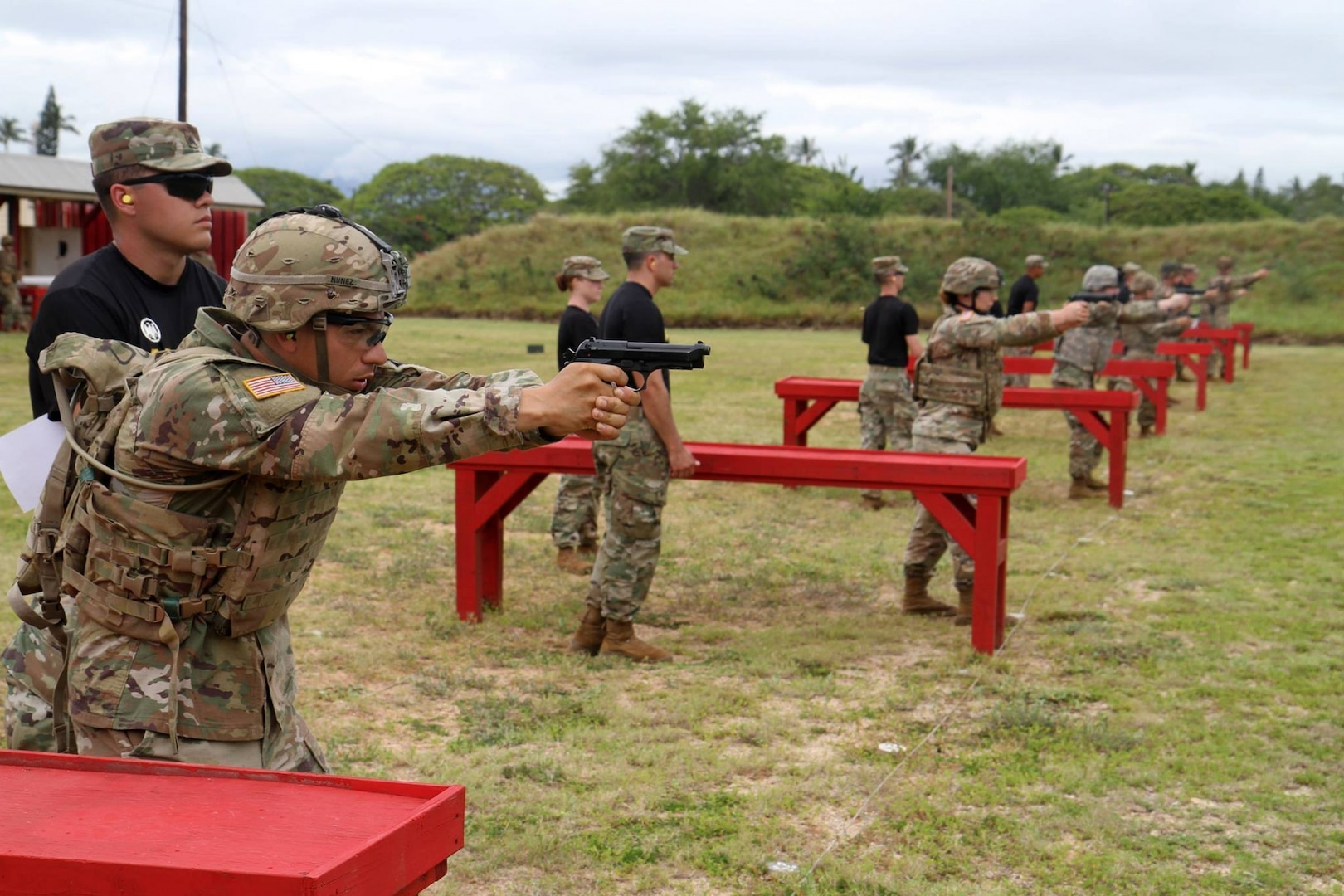 RHC-P hosts rigorous German Armed Forces Proficiency Badge competition