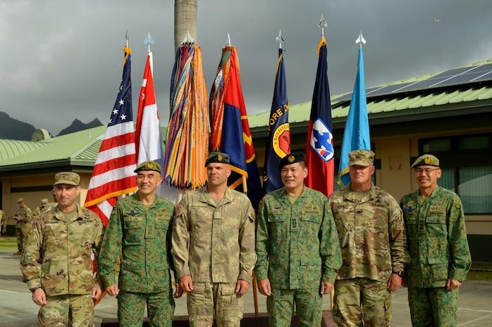US, Singapore armies kickoff Tiger Balm 18