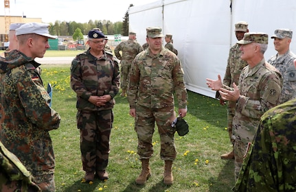 Army Reserve works with NATO allies to sustain life on the battlefield … virtually