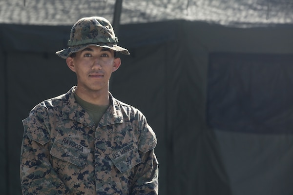 South Side native in Philippines as Marine