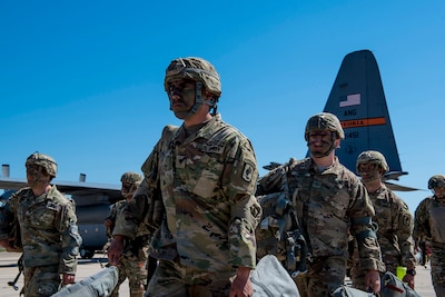 Air, Army Guard power on display during airdrop exercise