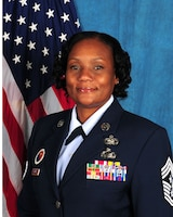 Chief Master Sergeant Kimberly S. Turner, Command Chief, 113th Wing, District of Columbia Air National Guard, Joint Base Andrews, Maryland.