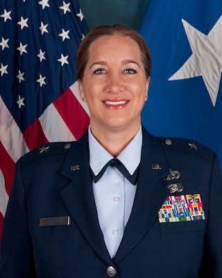 Director Joint Staff, District of Columbia National Guard, Brig.Gen. Maren McAvoy