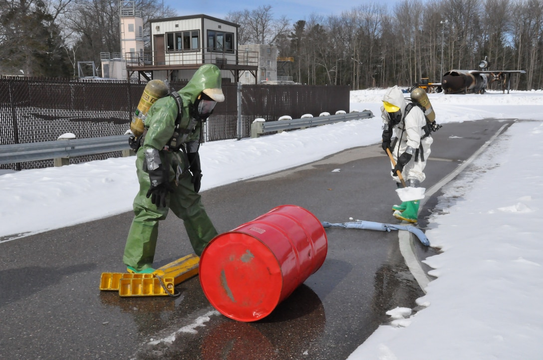 Alpena Michigans CRTC hosted a successful multinational training and exercise event for Mine Safety Appliance, Self-Contained Breathing Apparatus(SCBA) Maintenance and hazardous materials (HAZMAT) handling was facilitated by the Michigan Air National Guard.