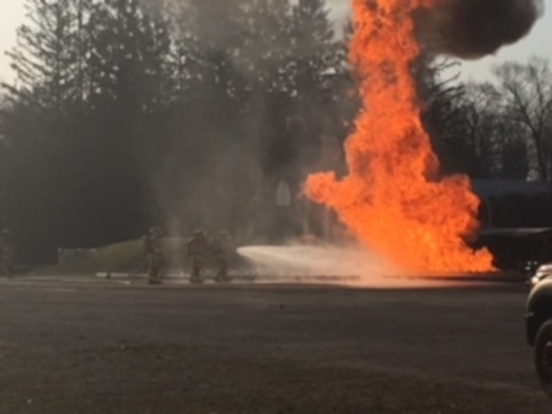110th Michigan and 121st Ohio ANG completed fire and training exercises May 1st-4th.