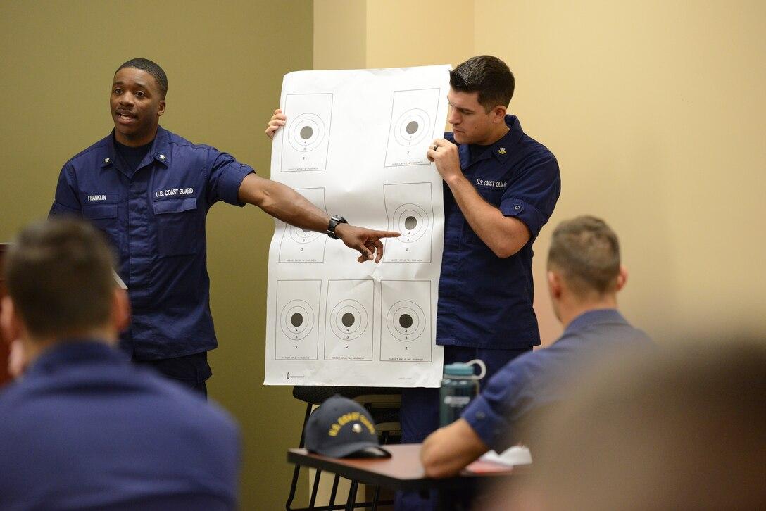 Alpena CRTC hosts several U.S. Coast Guardsman